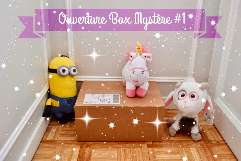 OUVERTURE – Box mystère #1 – MINIONS 🍌