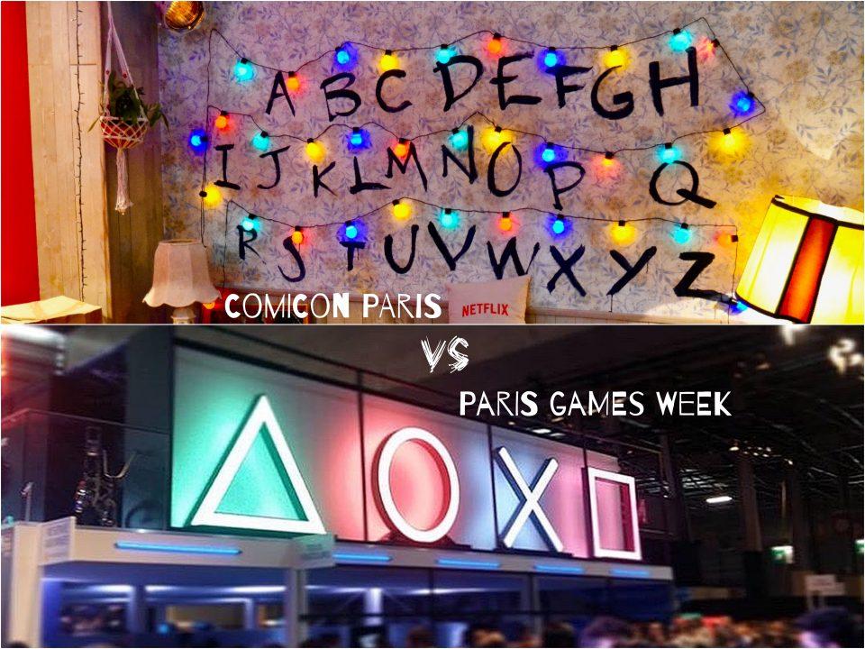 -COMICON PARIS VS PARIS GAMES WEEK-