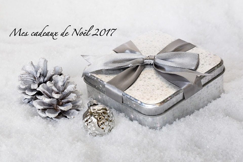 – Mes cadeaux de Noël 2017 –