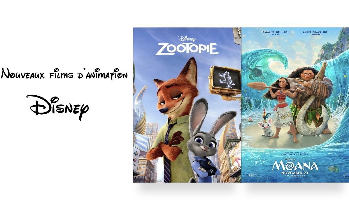 Nouveaux films d'animation Disney